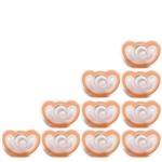 JollyPop 10 Pack PLUS Orange